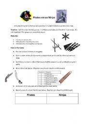 English Worksheets: Math Concepts: Probability, Fair and Unfair Games