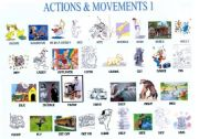 English Worksheets: verbs of action and movement