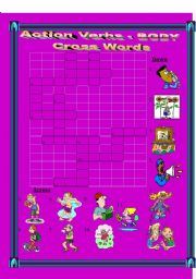 English Worksheets: Action Verb Action made by the Body