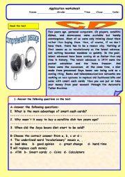 English Worksheets: CD