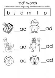 3 letter rhyming words worksheets laptuoso