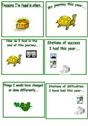 English Worksheets: End of the Year Activity - 2 pages
