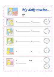 Worksheets Daily Schedule Worksheet daily schedule worksheet sharebrowse my routine by nguyen hong phuong