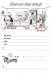 English Worksheets: Present progressive_special spelling