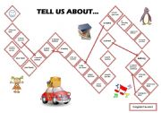 English Worksheets: Tell Us about