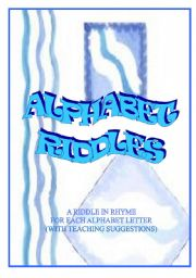 English Worksheets: ALPHABET RIDDLES