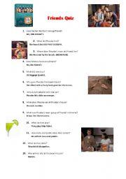 Friends - Episode 25 - season 3 - Worksheet