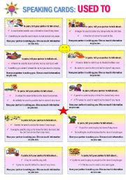 English Worksheet: 10 DIFFERENT