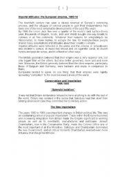English Worksheet: British History