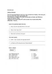 English Worksheets: Interpretation of text