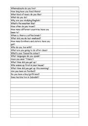 English Worksheets: frequently asked questions