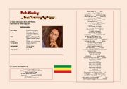 English Worksheet: Bob MArley ´Don´t worry be happy´