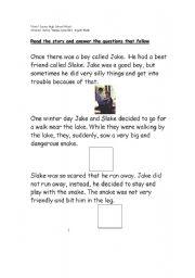 English Worksheets: Oren