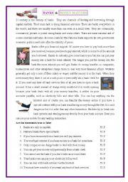 English Worksheets: banks