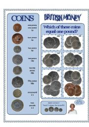 BRITISH MONEY - get to know the coins!