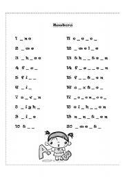 Worksheets 1 20: English teaching worksheets  numbers 1 20,