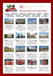 English Worksheet: London