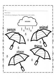 proper nouns and common nouns worksheets