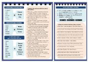 English Worksheet: Quantifiers (some, any, many, much, most, a little, a few, neither, either, both etc.)