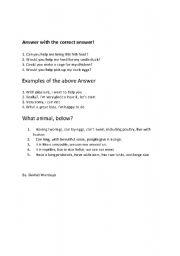 English Worksheets: dalily lesson