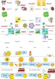 English Worksheets: Motivational sticker