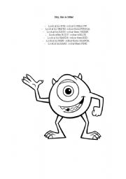 English Worksheets: This is Mike!