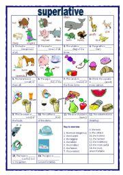 english teaching worksheets superlative adjectives. Black Bedroom Furniture Sets. Home Design Ideas