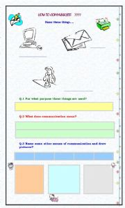 English Worksheets: How to Communicate???