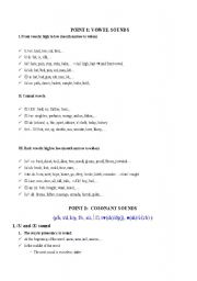English Worksheet: Pronunciation in American English