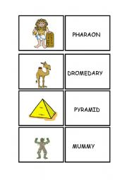MEMORY GAME: ANCIENT EGYPT for kids
