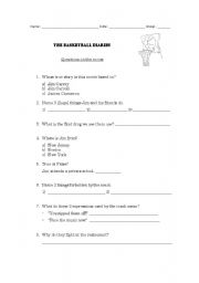 English Worksheet: The Basketball Diaries