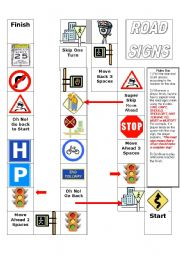 ROAD SIGNS BOARD GAME