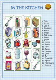 Kitchen Utensils Small Equipment Identification Activity A Chapter