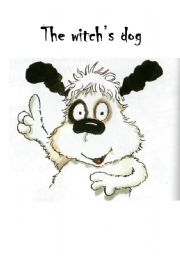 English Worksheets: The witch�s dog