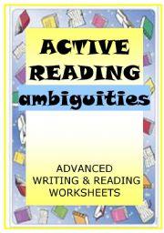English Worksheets: ACTIVE READING - ambiguities