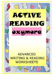 English Worksheet: ACTIVE READING - oxymora