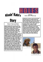 Printables Holes Worksheets holes worksheets templates and english teaching louis sachar