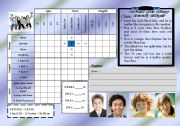 English Worksheets: logic game 13 - what do i look like? BOY