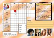 English Worksheets: logic game 14 - what do i look like? GIRL