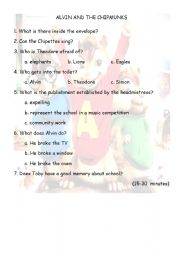 Alvin and the Chipmunks 2 15 to 30 minutes
