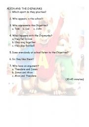 Alvin and the Chipmunks 2 30 to 45 minutes