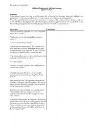 English worksheets Fahrenheit 451   Mildred