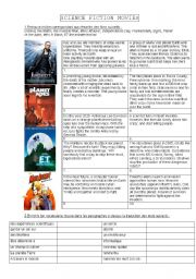 english teaching worksheets science fiction movies. Black Bedroom Furniture Sets. Home Design Ideas
