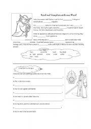 English teaching worksheets: Star Wars