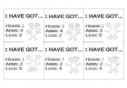 English Worksheets: I�VE GOT...