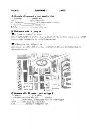 English Worksheets: exam questions