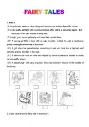 english teaching worksheets fairy tales. Black Bedroom Furniture Sets. Home Design Ideas