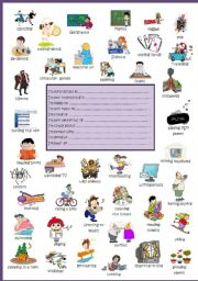 English Worksheets: What are you interested in?