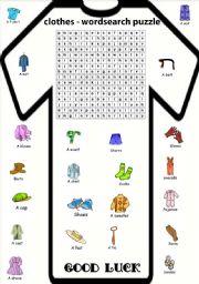 Articles Of Clothing Worksheet Also Number Worksheet Ks4 Also ...