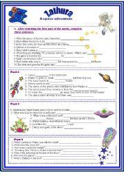 English Worksheet: Zathura - A space adventure-